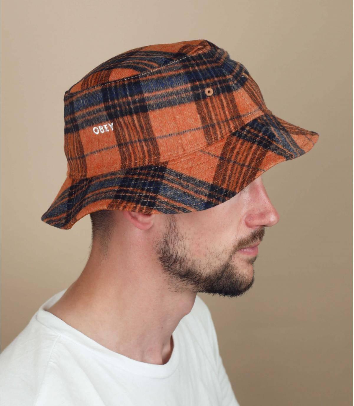 reversible bucket hat Obey