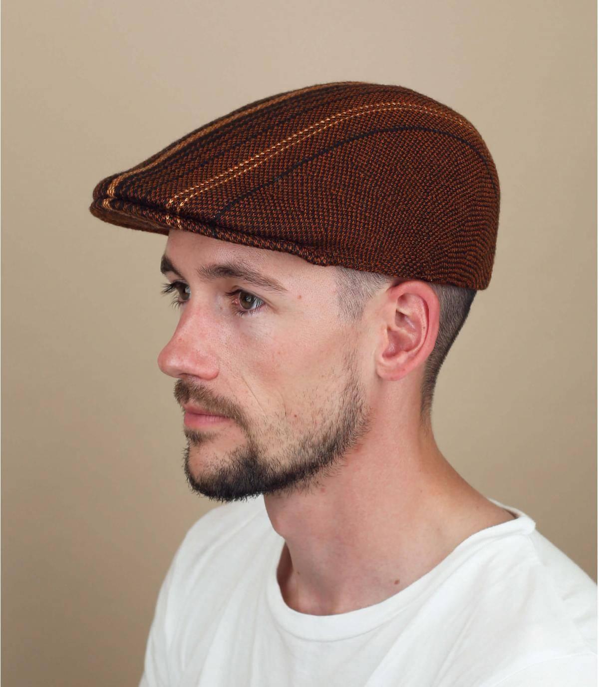 Brown507 Kangol cap