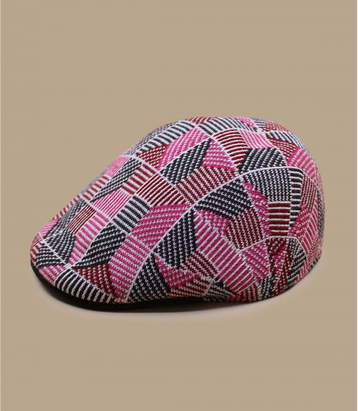 pink print cap Kangol
