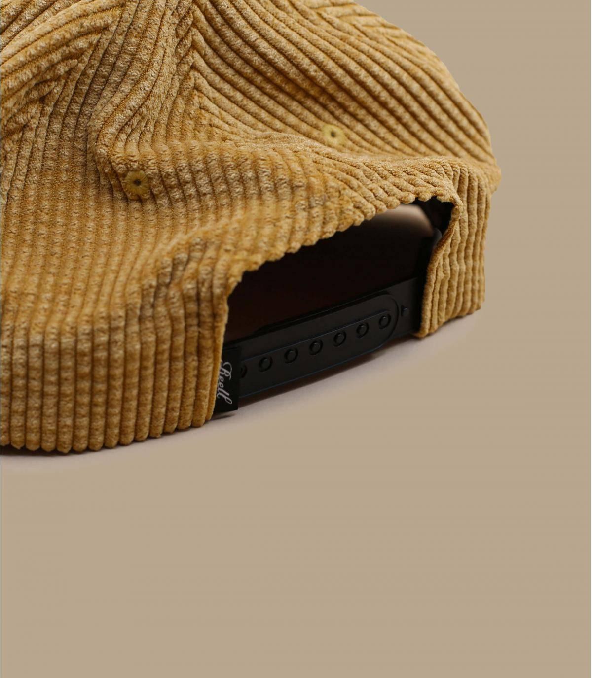 Détails Suede Cap Cord beige - image 4
