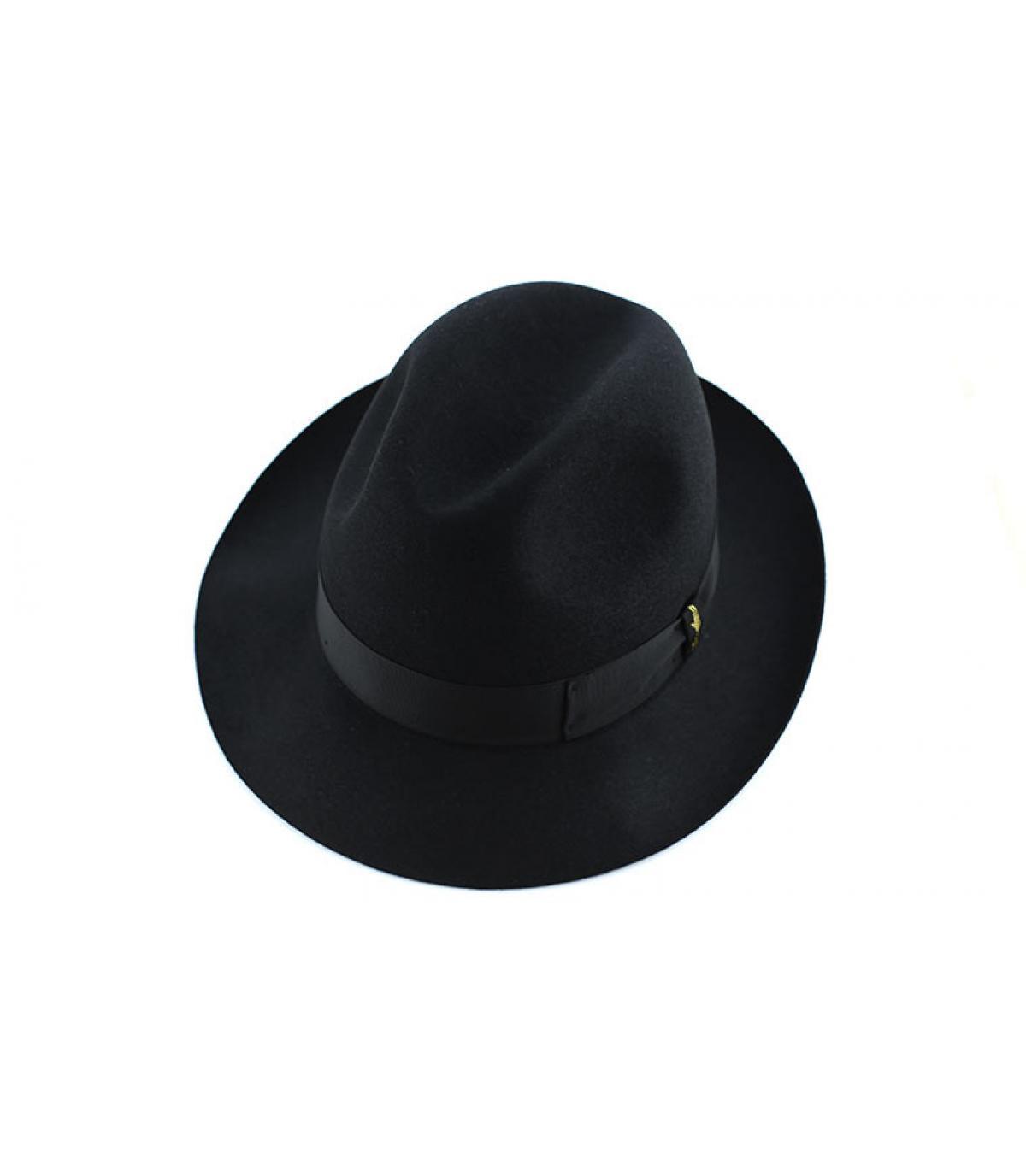 Détails Marengo black fur felt hat - image 3