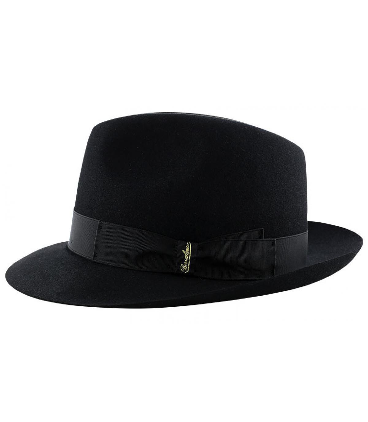 Détails Marengo black fur felt hat - image 4