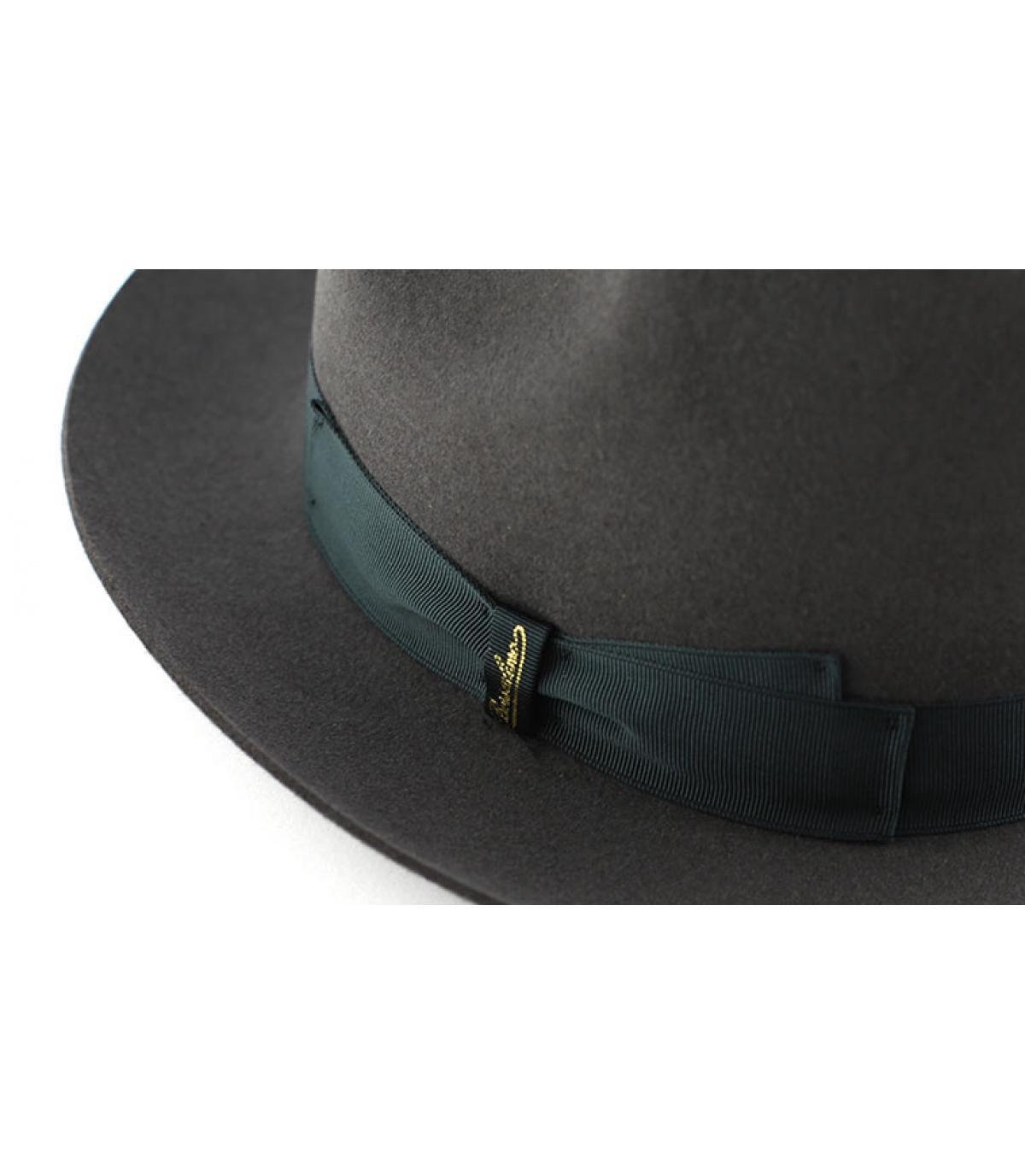 Détails Marengo grey fur felt hat - image 2