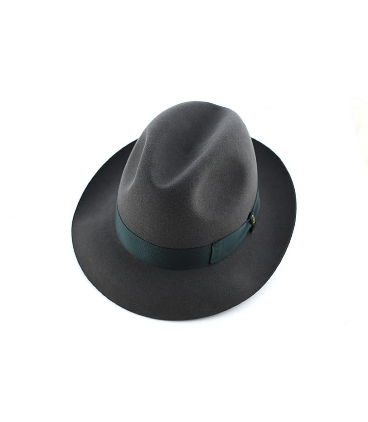 Détails Marengo grey fur felt hat - image 3