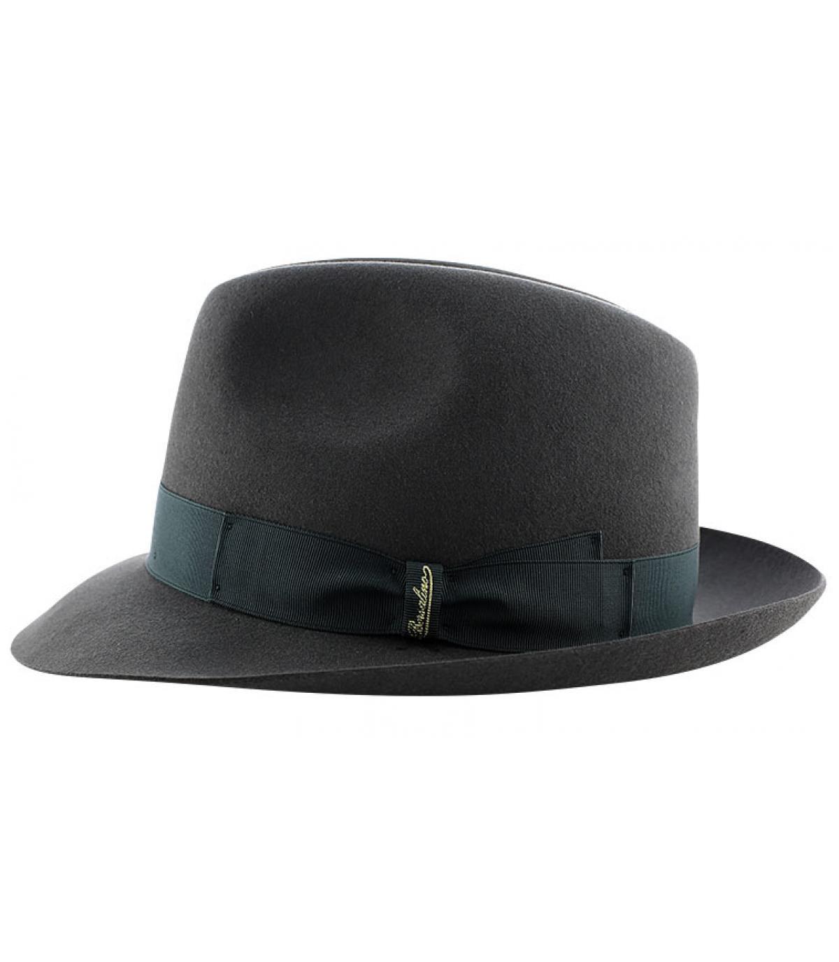 Détails Marengo grey fur felt hat - image 4