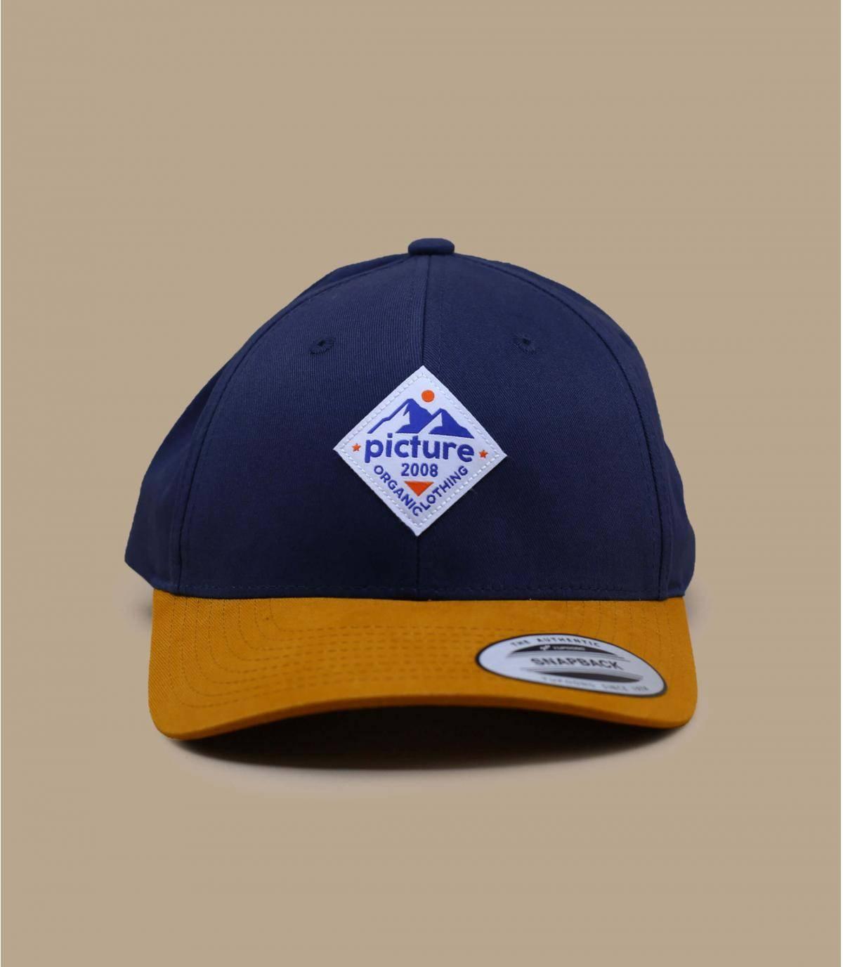 Blue cap Picture.