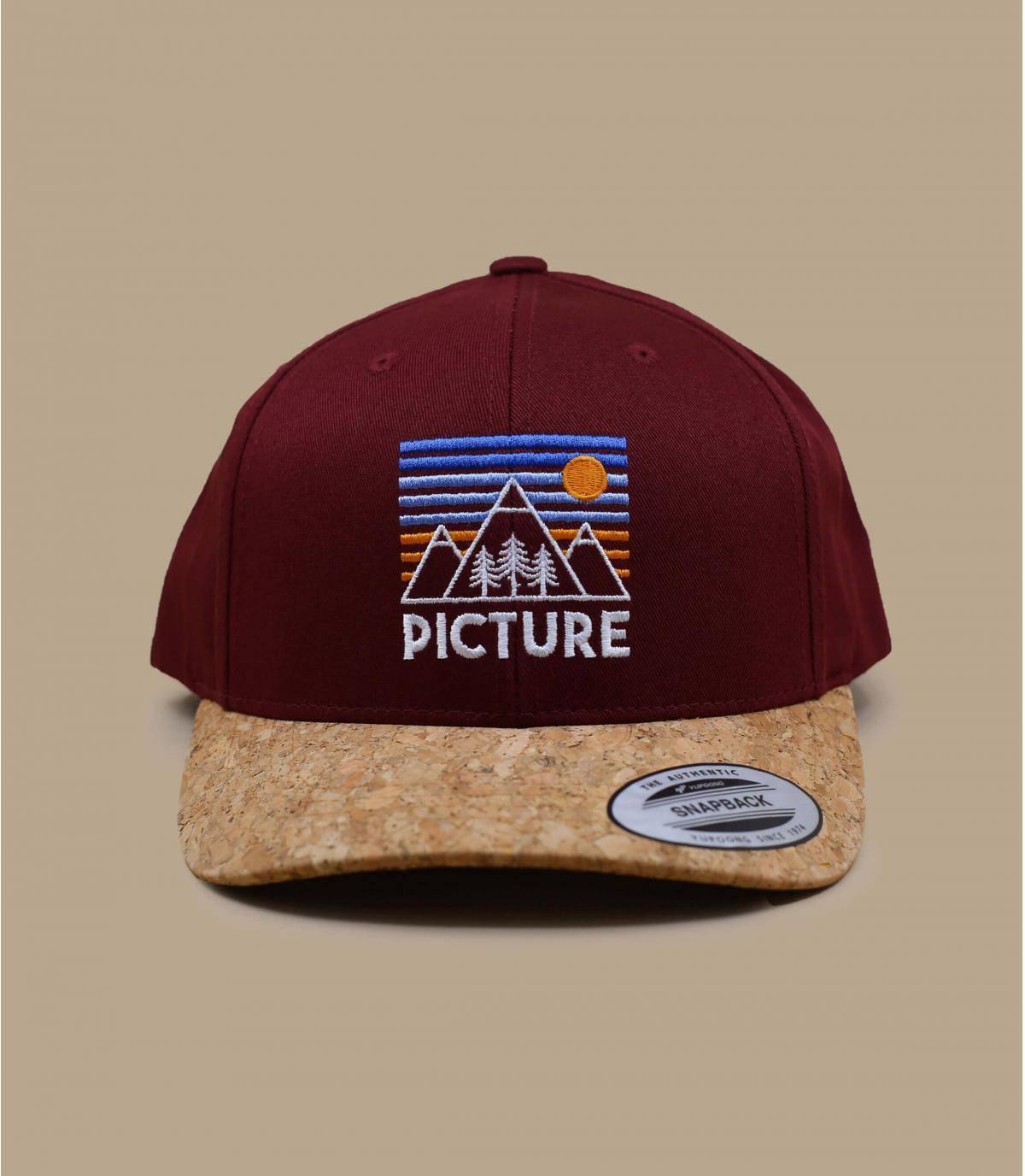 Red Pictures cap