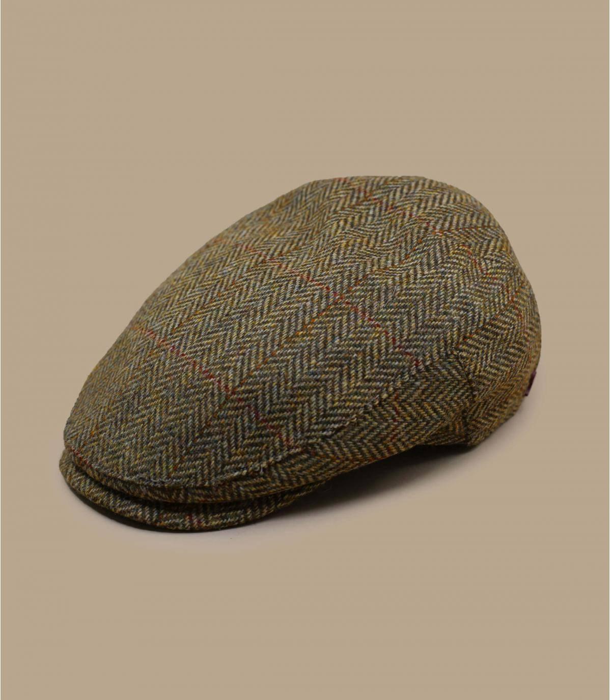 beige wool beret