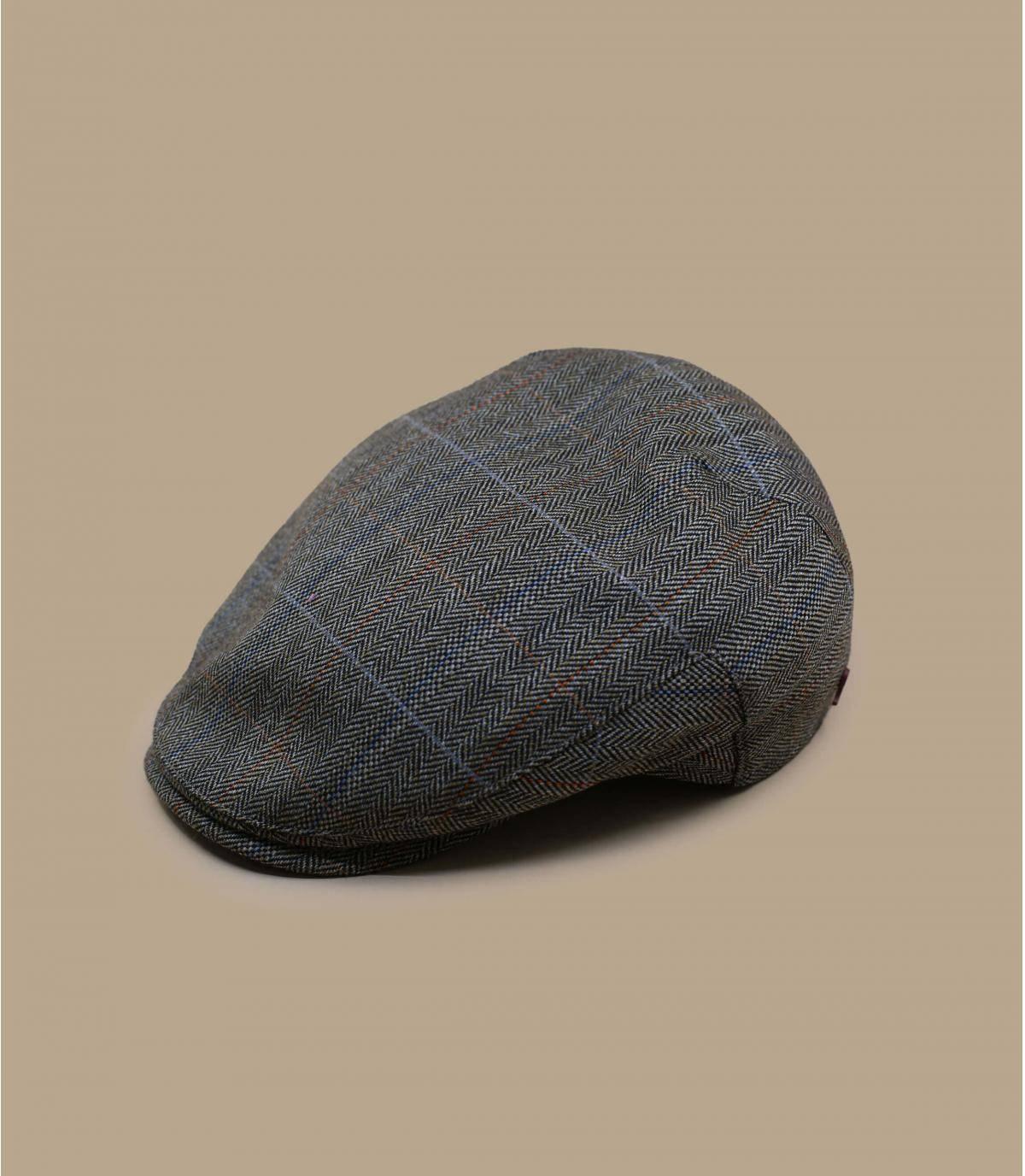 Wool cap herringbone