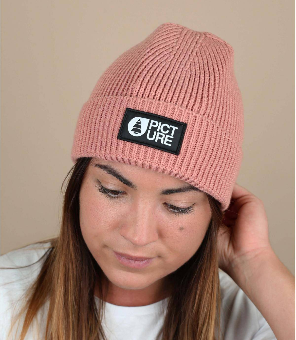 Pink Picture beanie