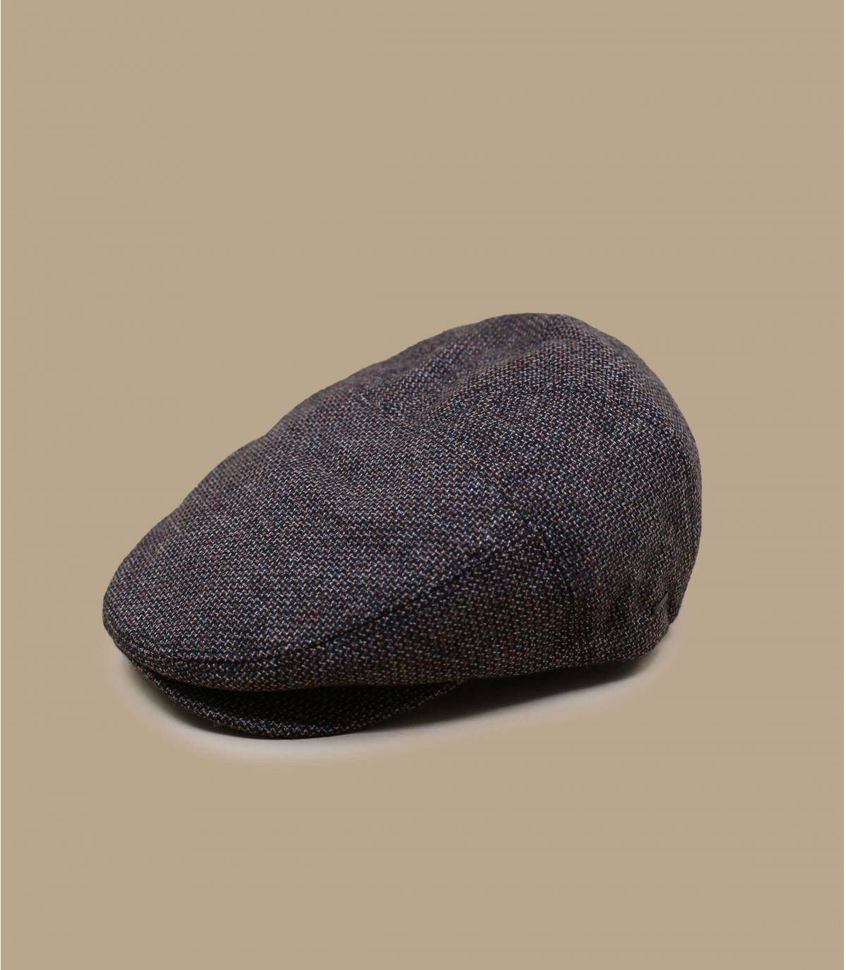 black wool beret