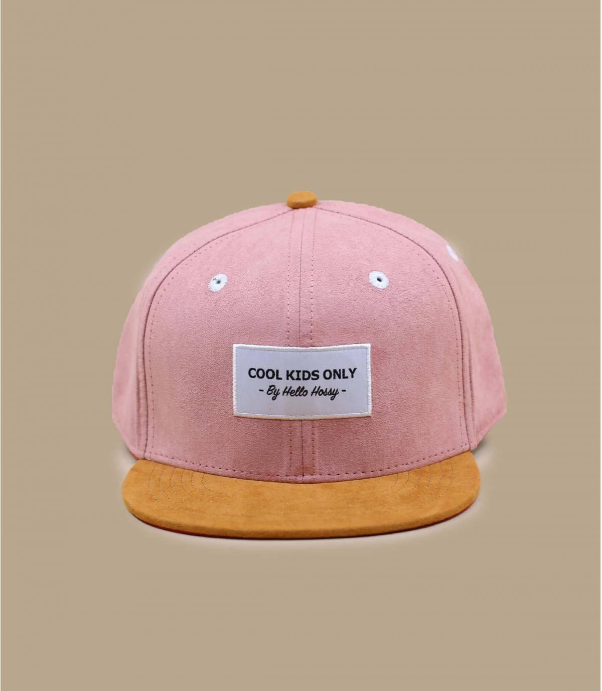 pink children cap