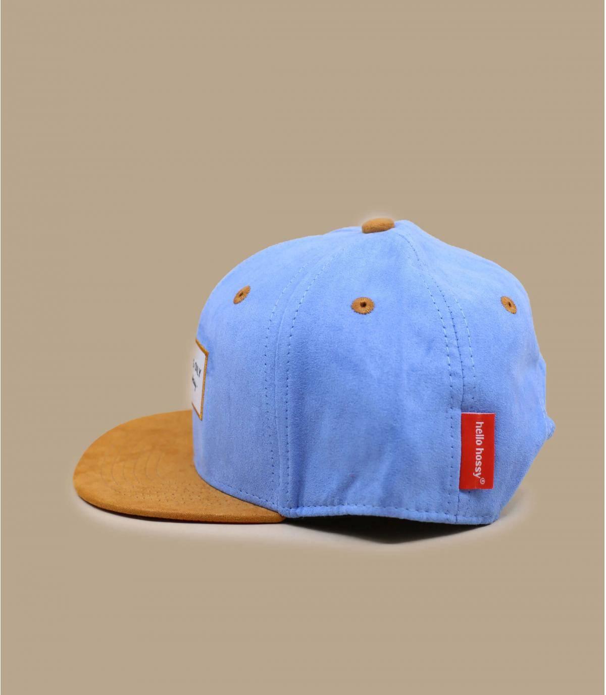 blue kids cap
