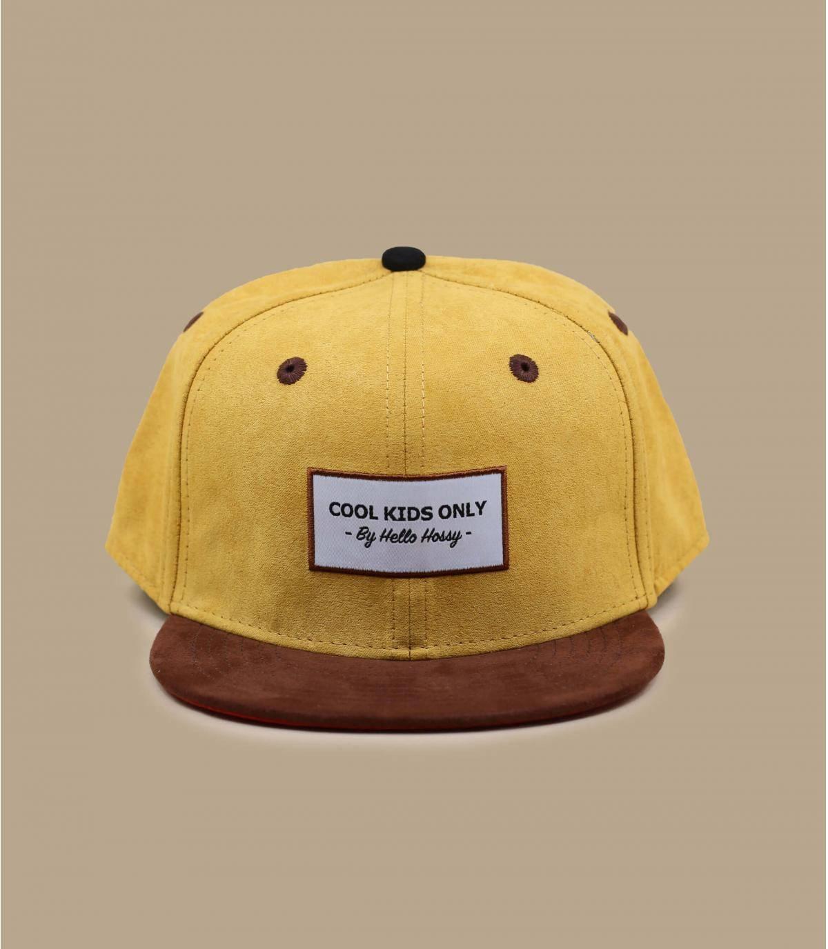 child cap yellow