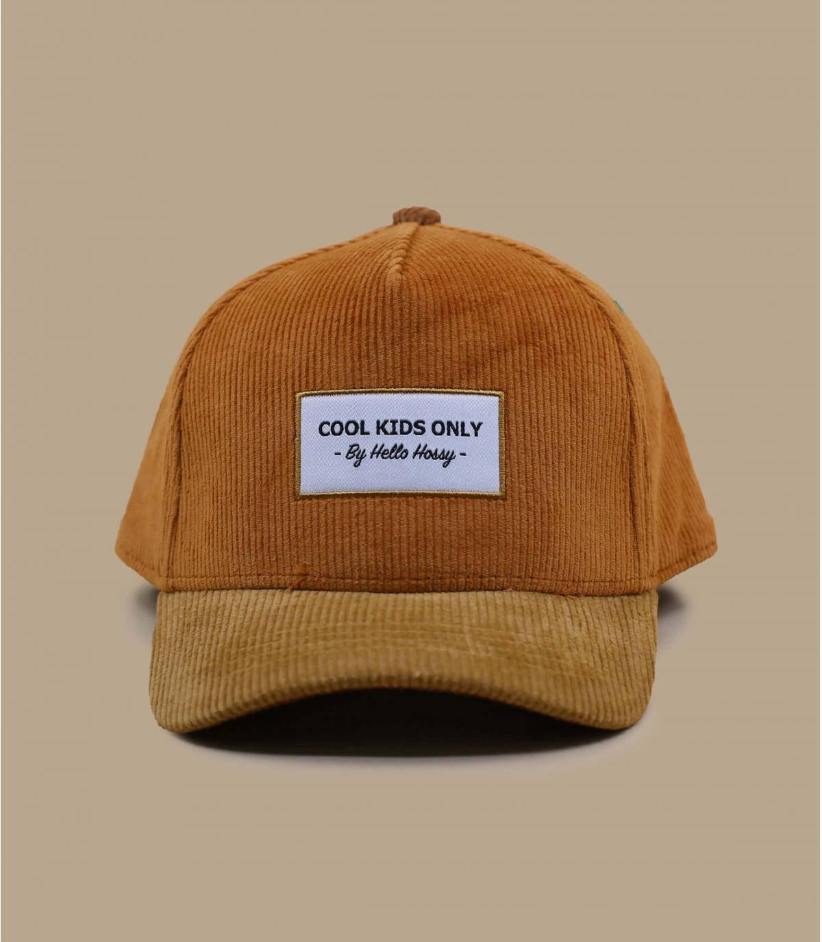 Beige child cap
