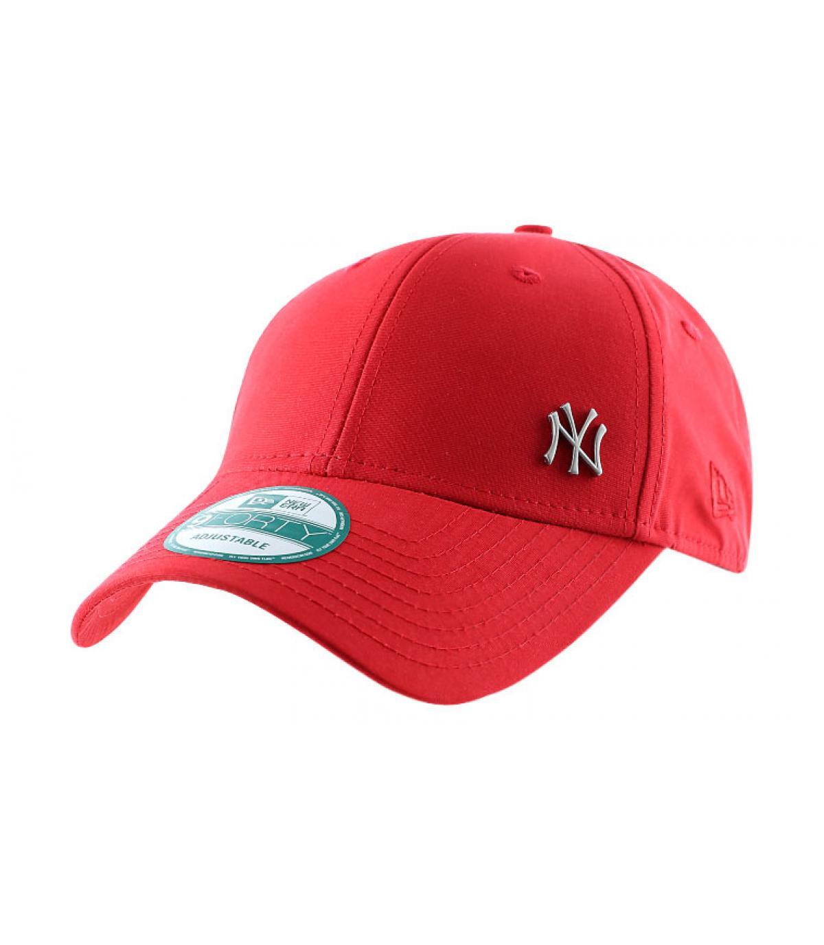 Black New Era cap - MLB flawless logo NY red cap by New Era. Headict fb7c5d0e28a