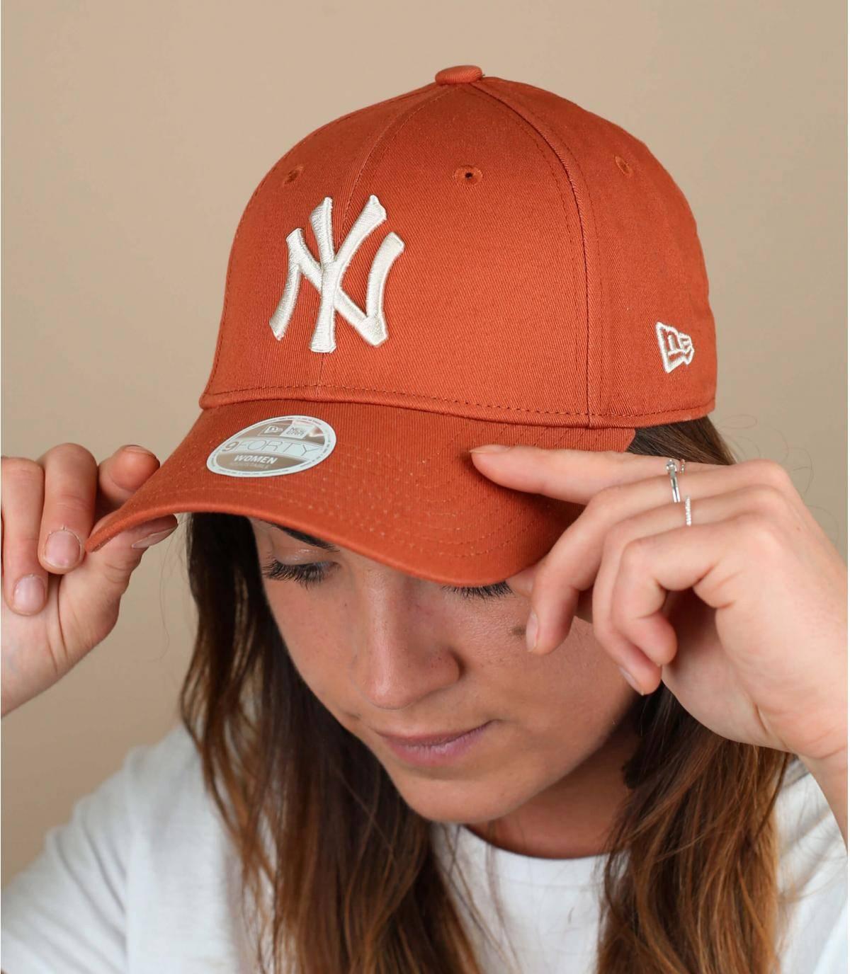 Orange women cap