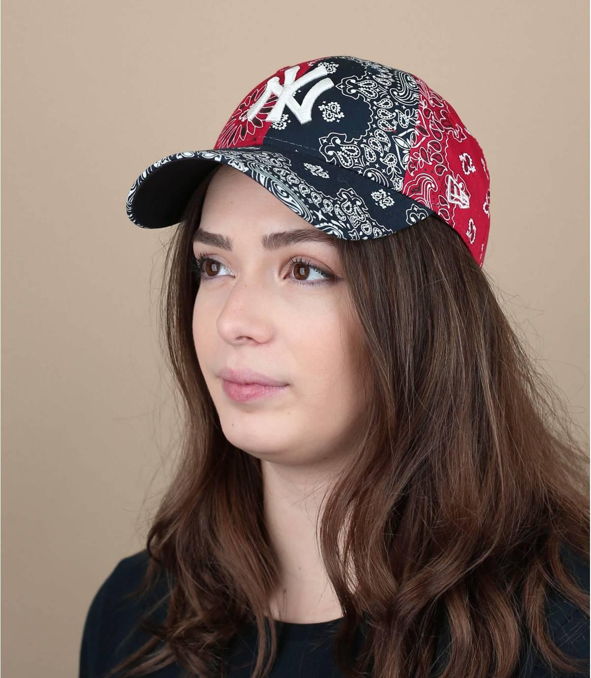 women bandana cap