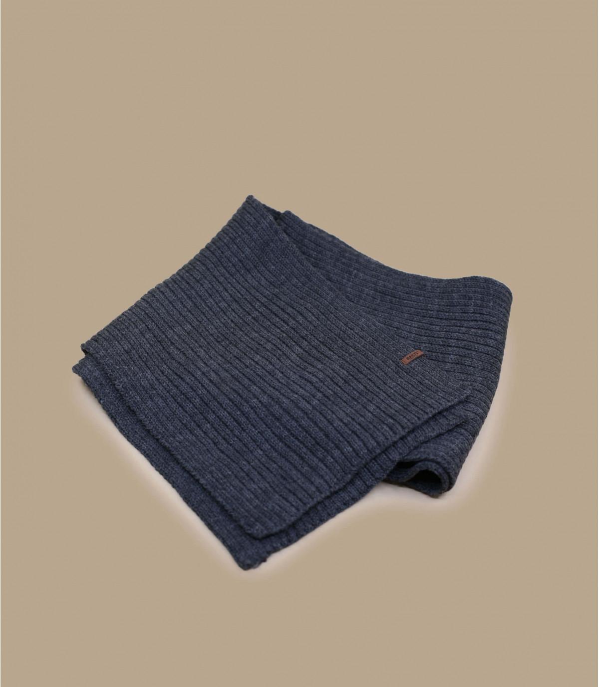 Gray barts scarf