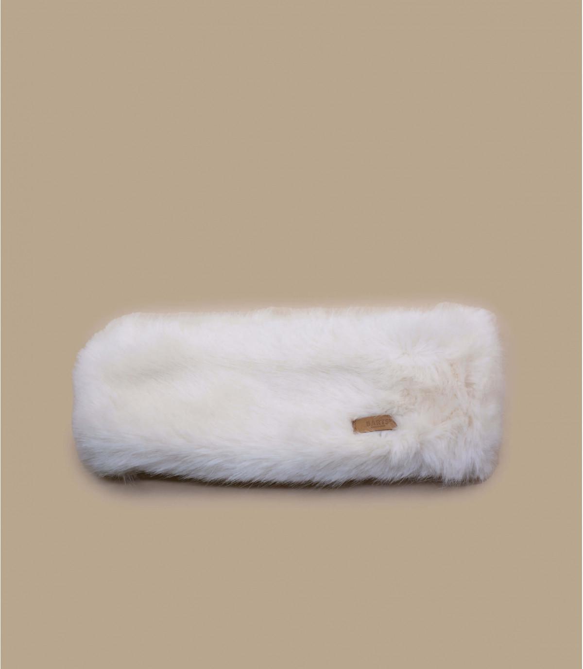 White fur headband - Fur Headband white by Mitchell and Ness. 794ebcca6e9