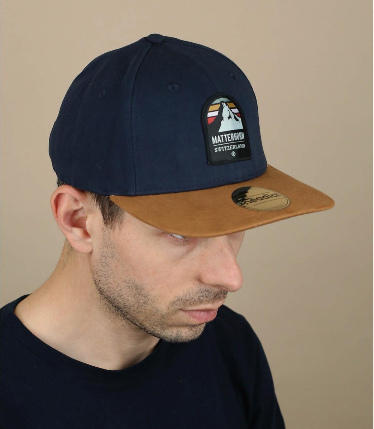 blue matterhorn cap