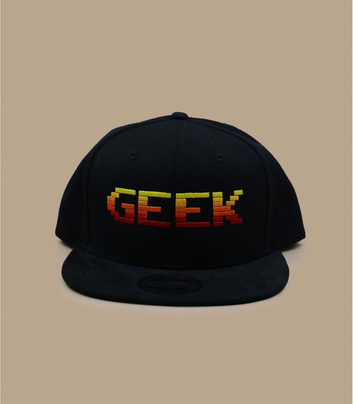 black Geek snapback - Snapback Geek on your headwear shop Headict 01f1520dcd0