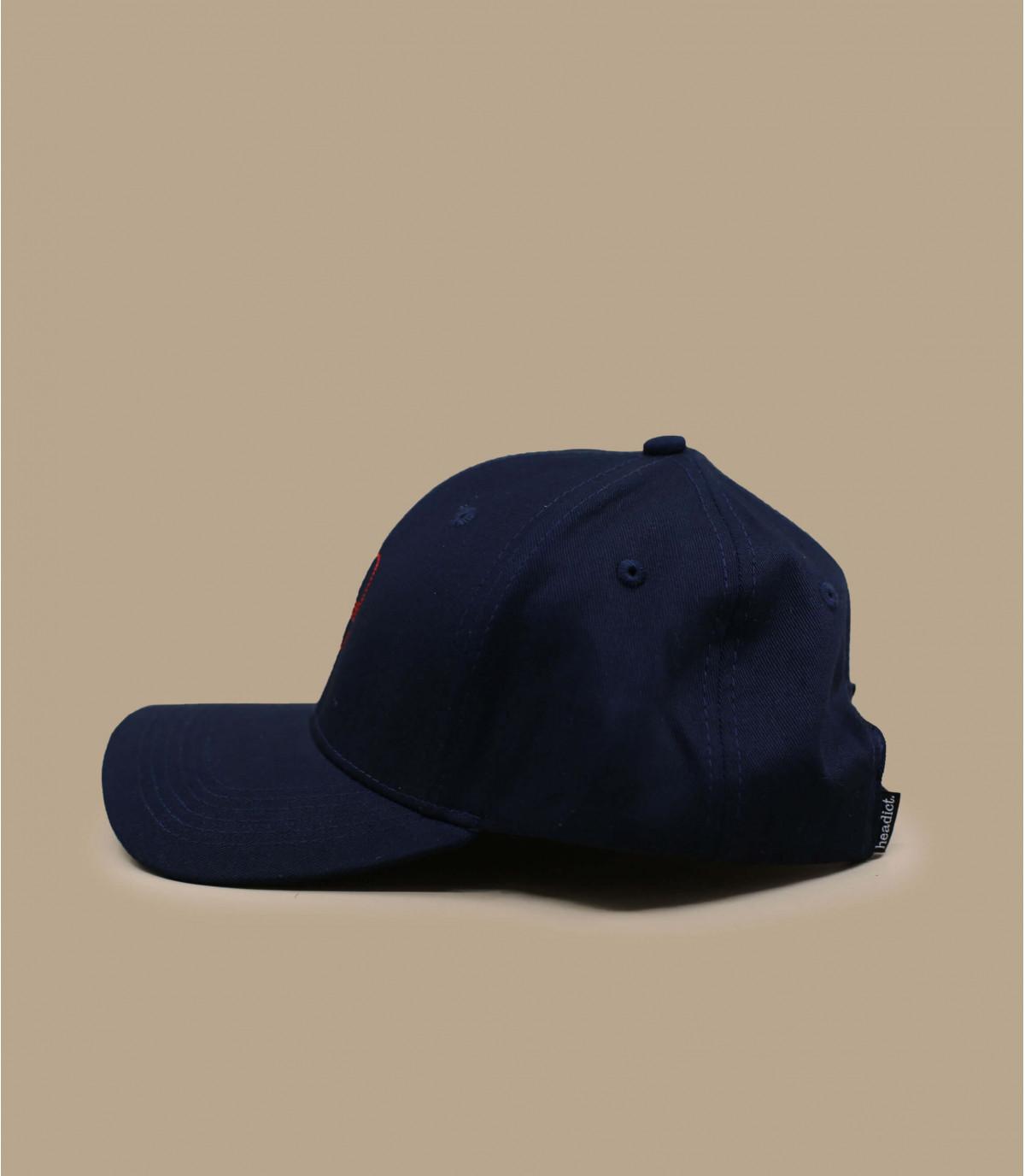 blue amour cap