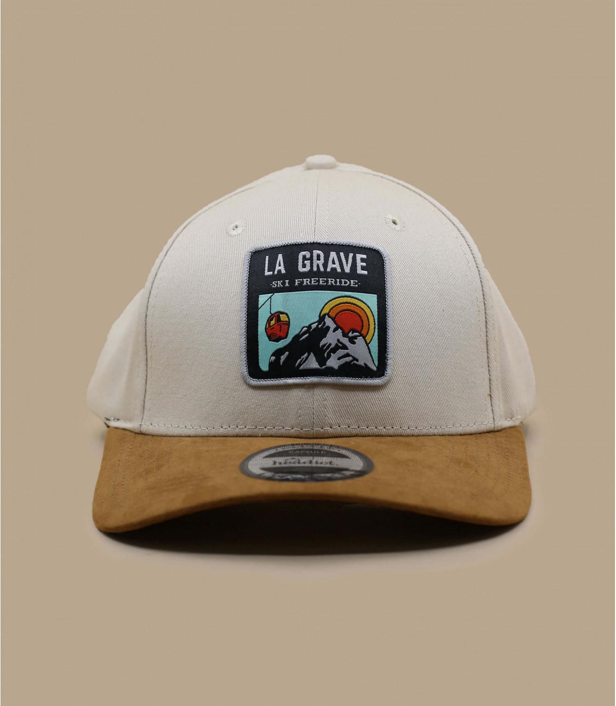 beige La Grave cap