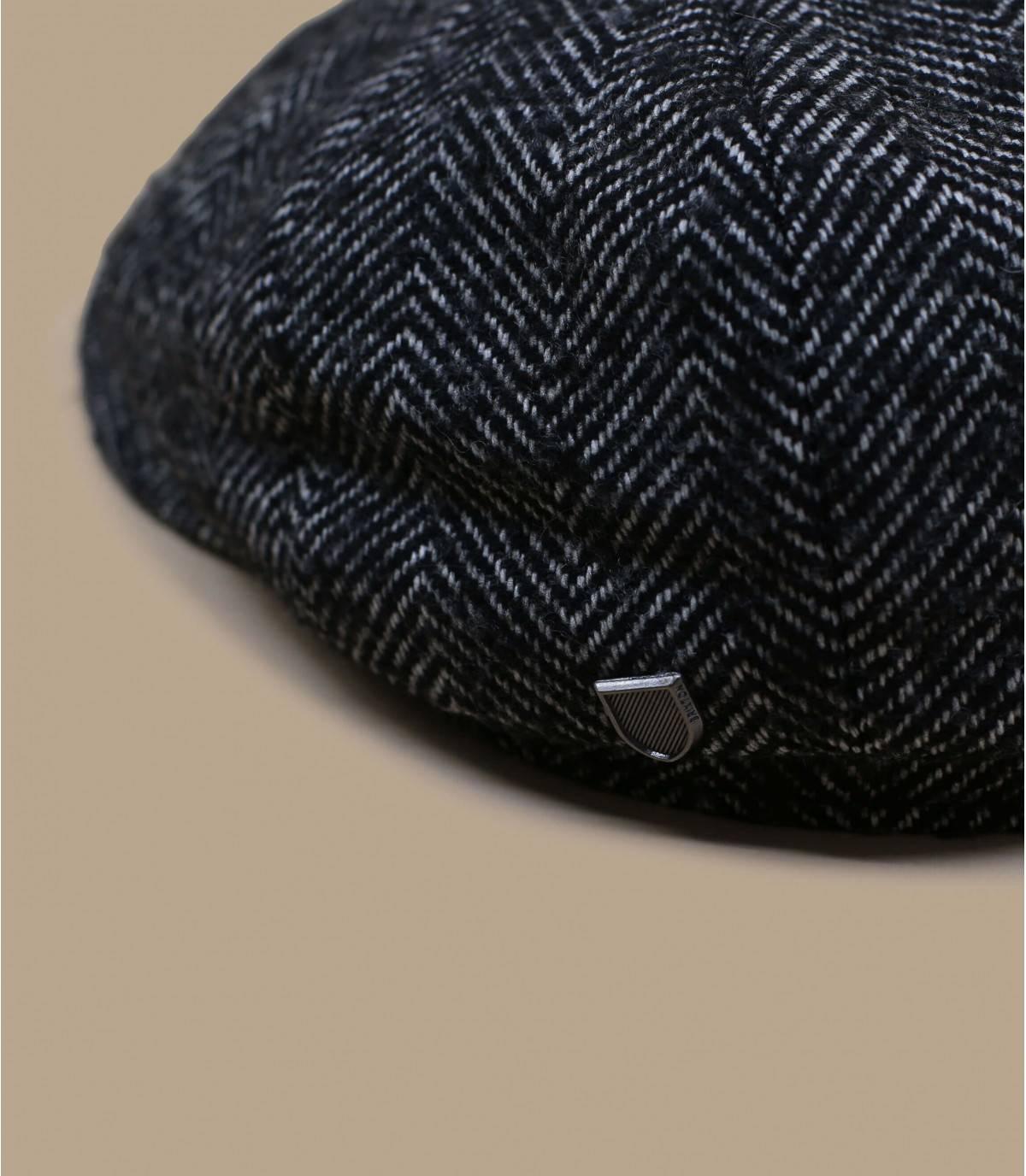 heather grey newsboy cap