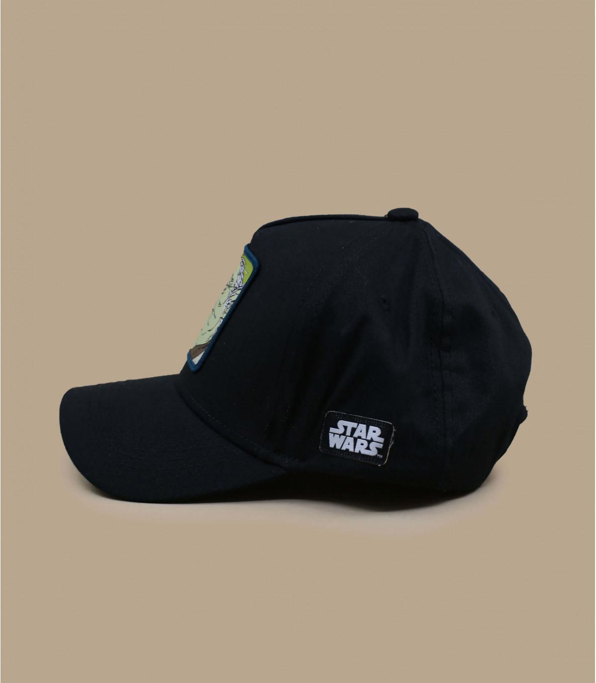black Yoda trucker