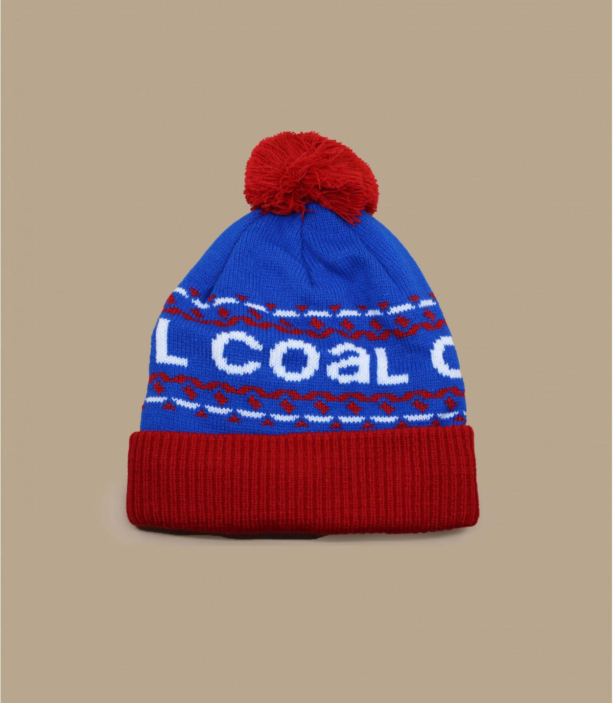 Vintage coal beanie