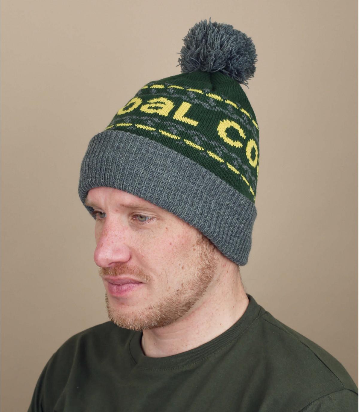 Green kelso beanie