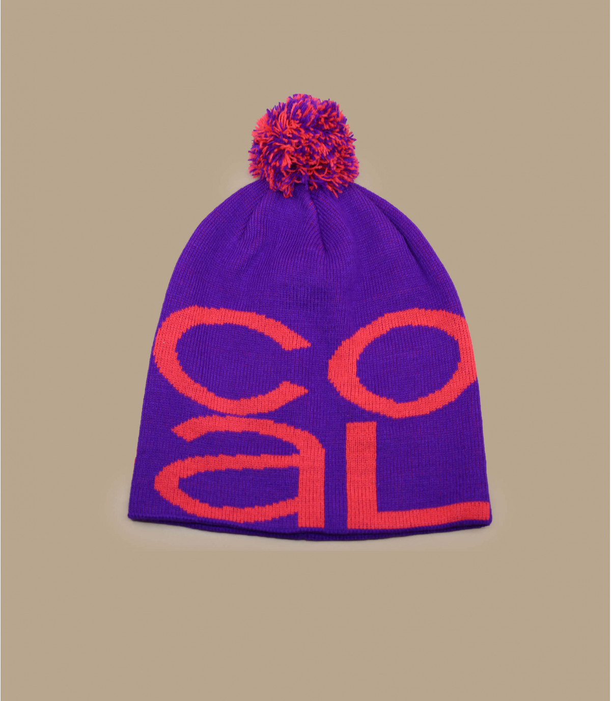 Purple logo coal