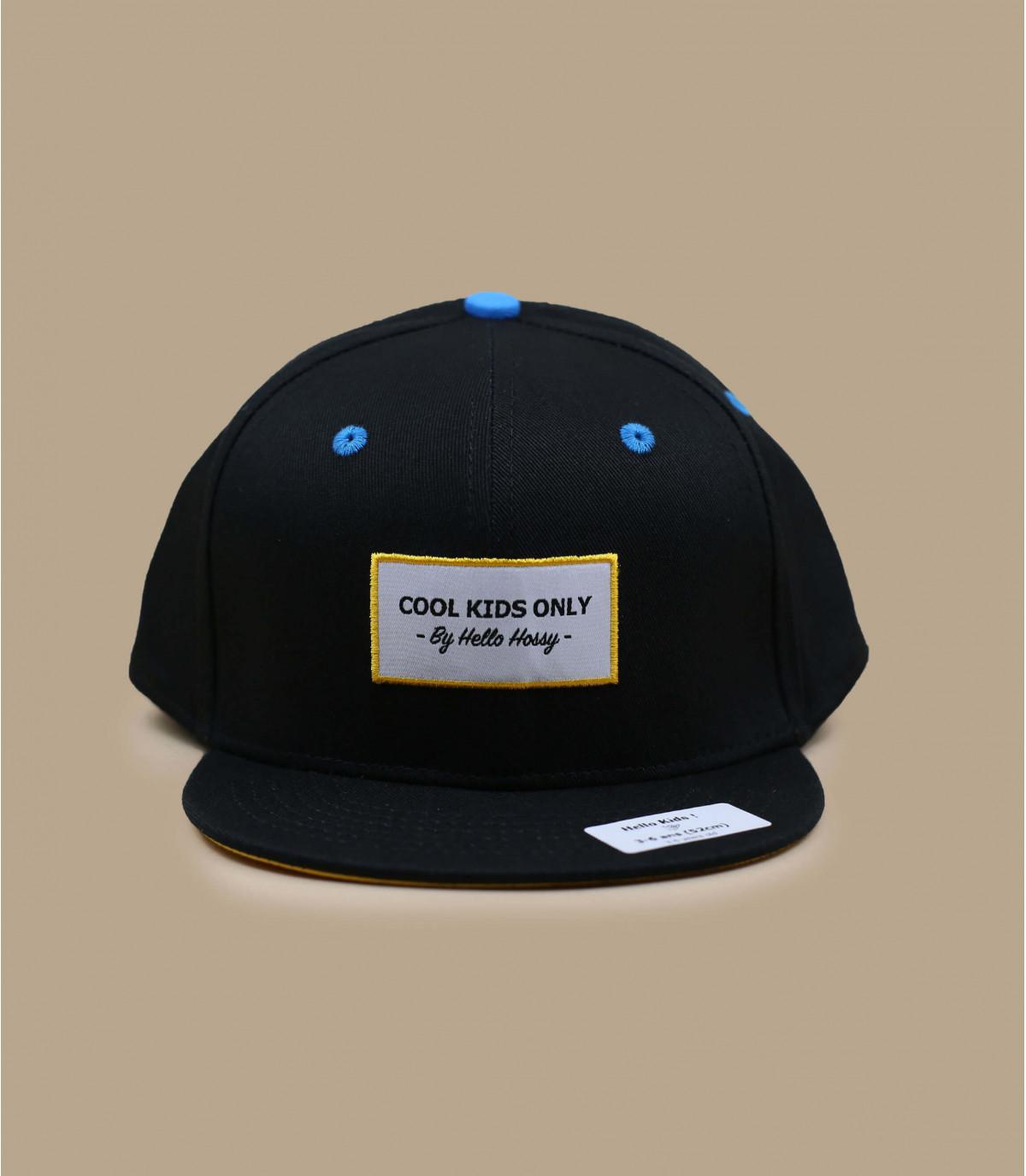 black Hossy child cap