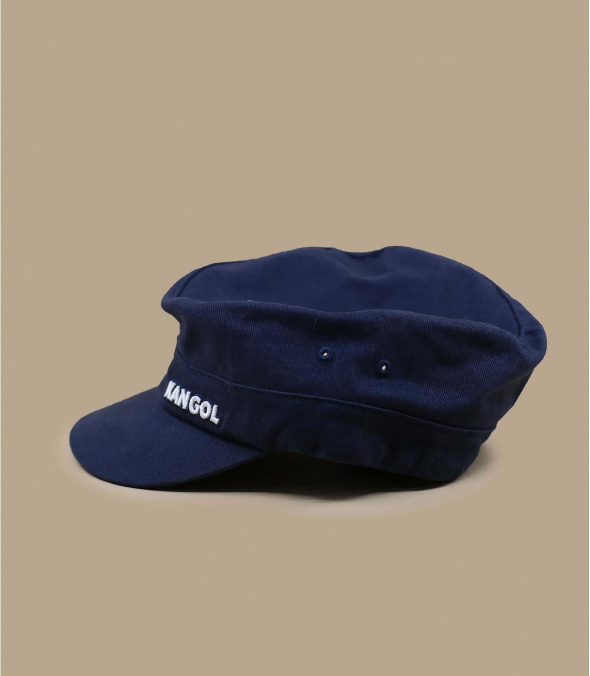 Kangol blue army cap