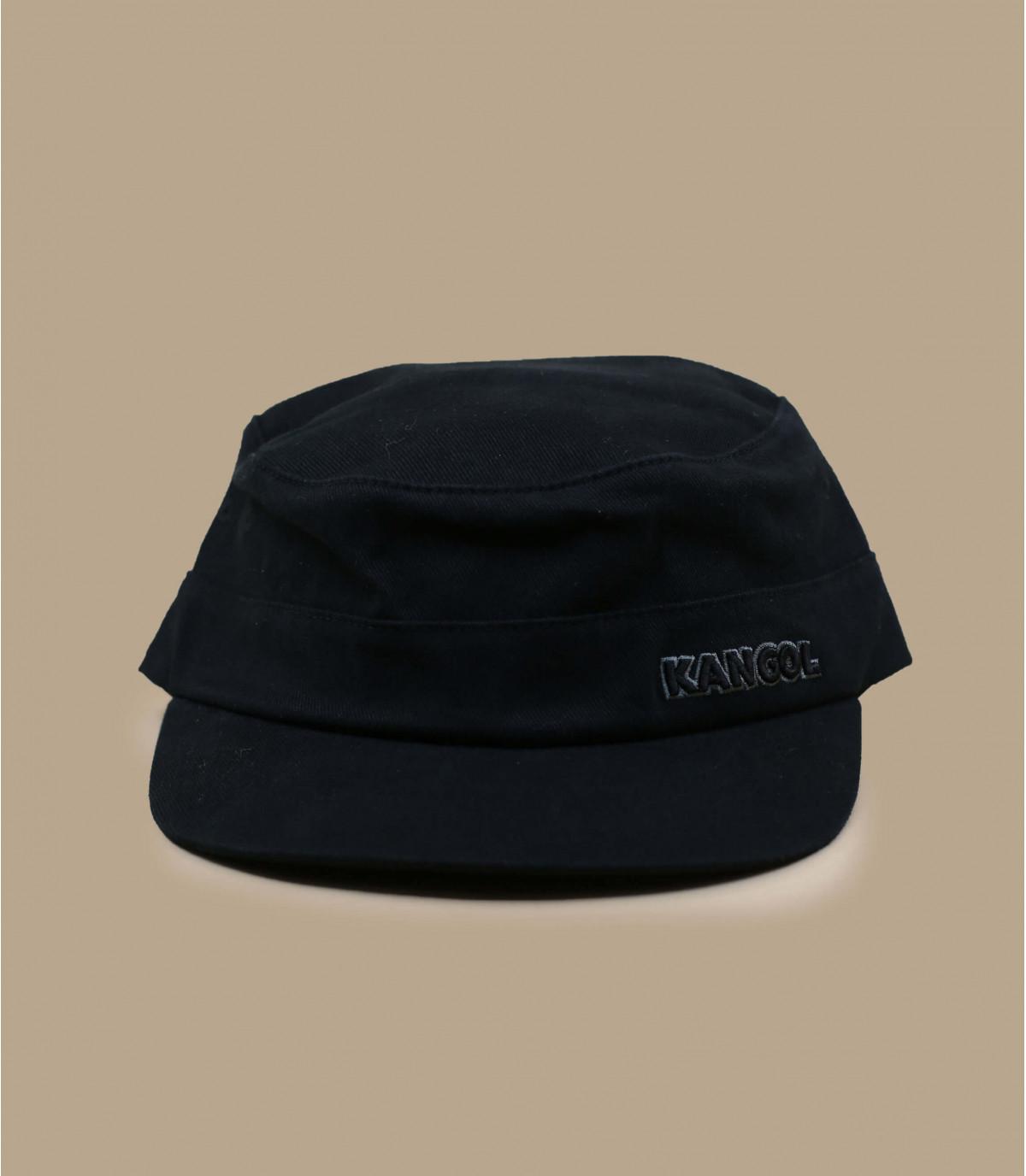 Kangol black army cap