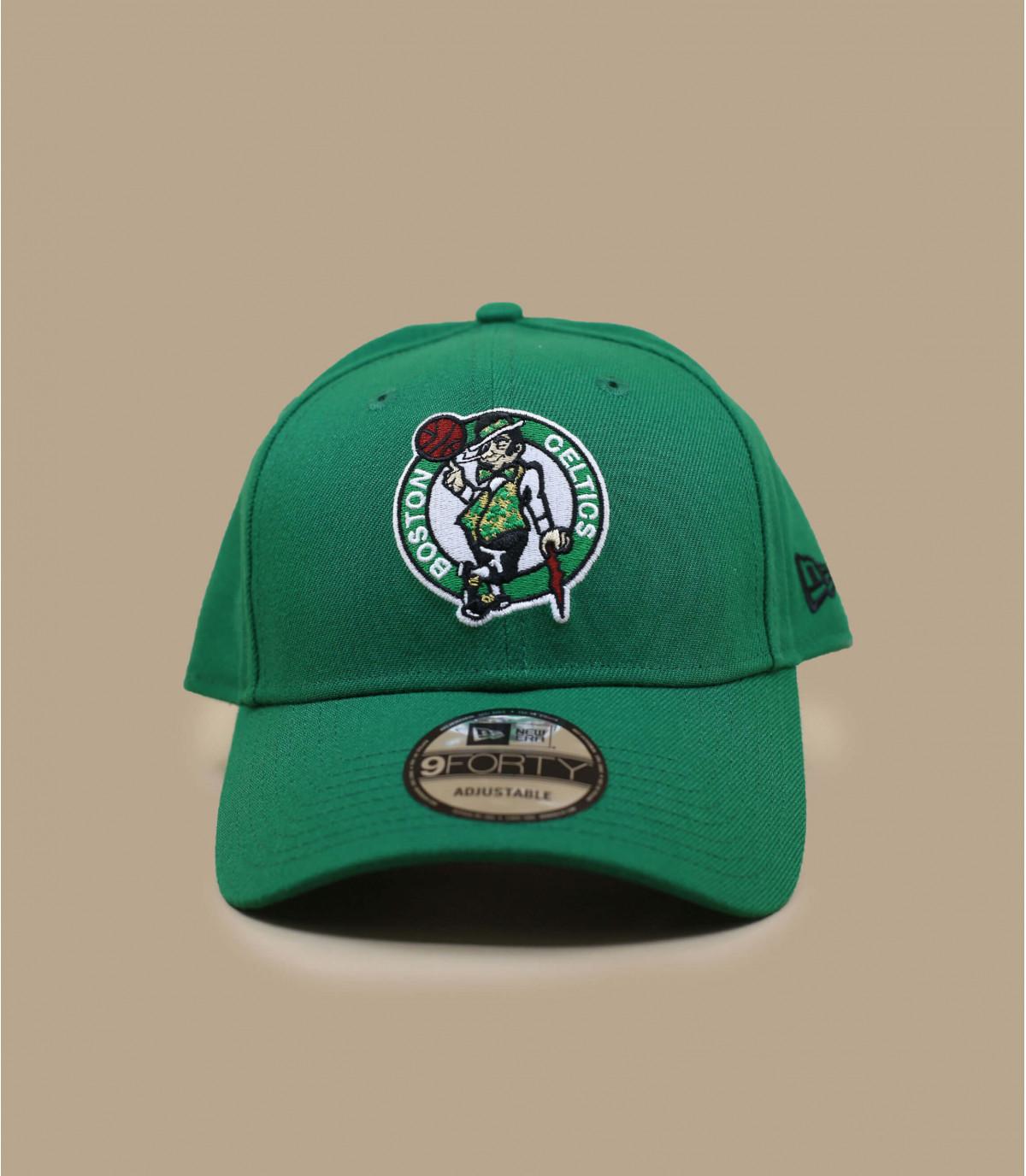 green Celtics curve cap