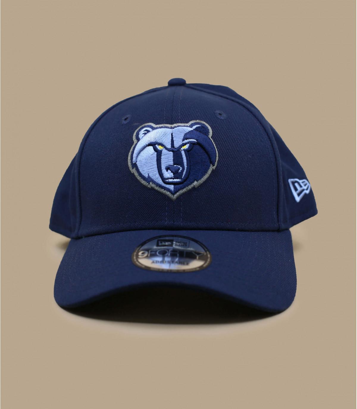 navy blue Grizzlies cap