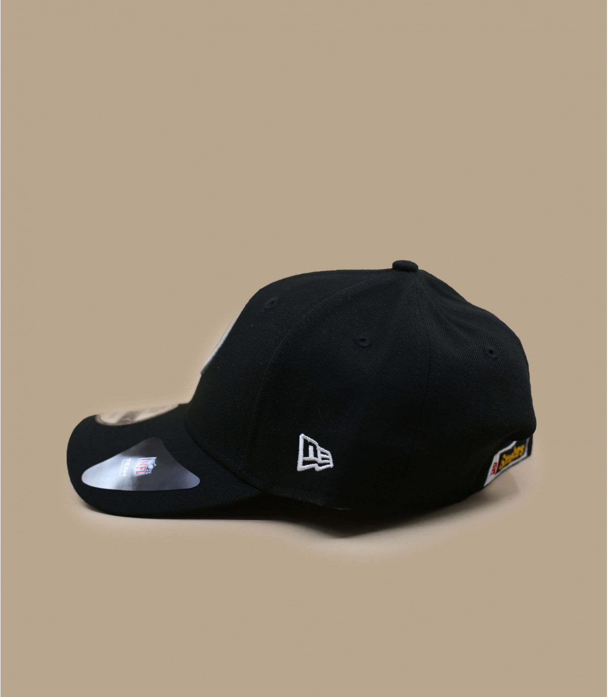 6e29a4de Steelers black curve cap - NFL The League Steelers Team by New Era ...