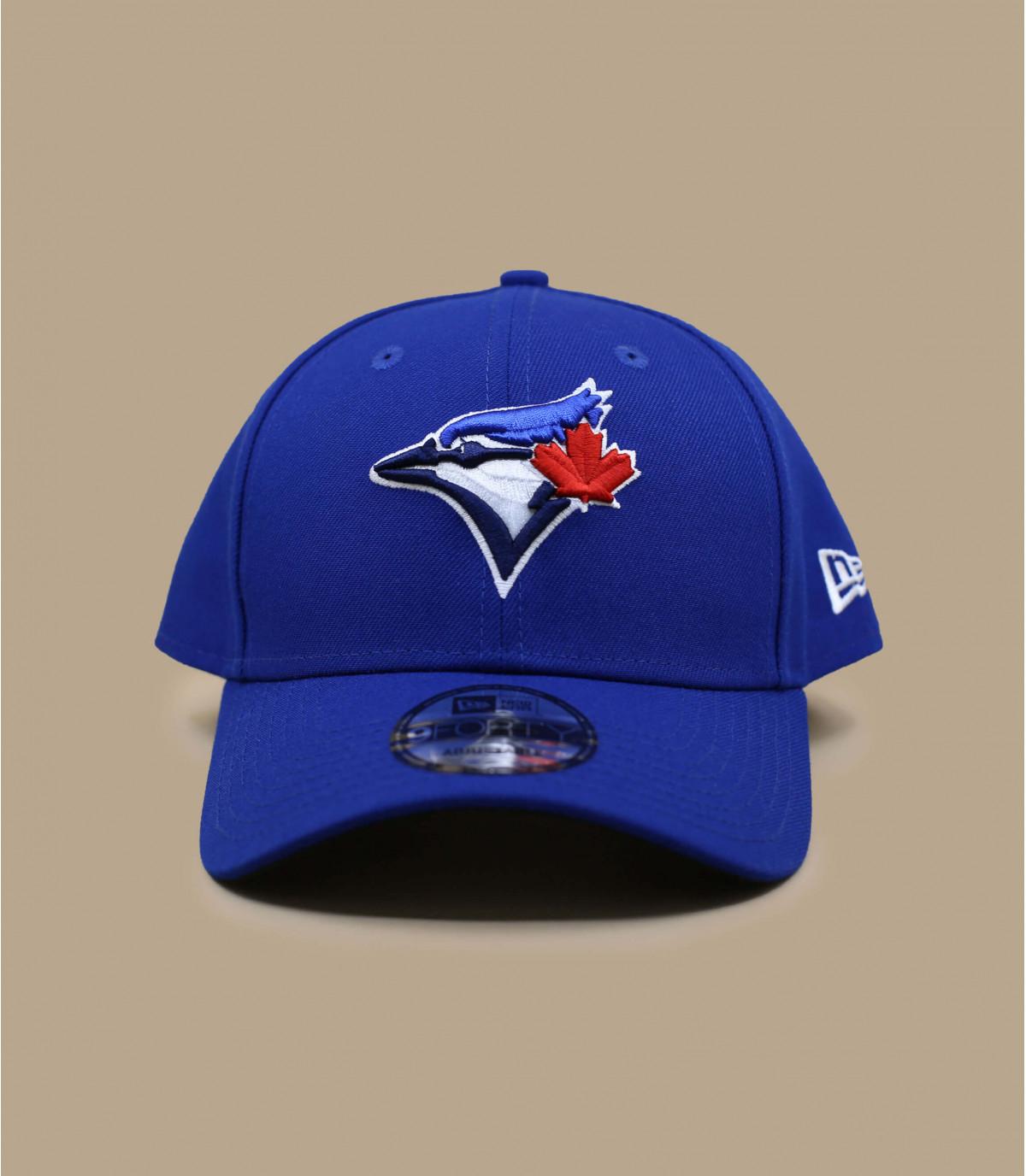 blue Toronto curve cap