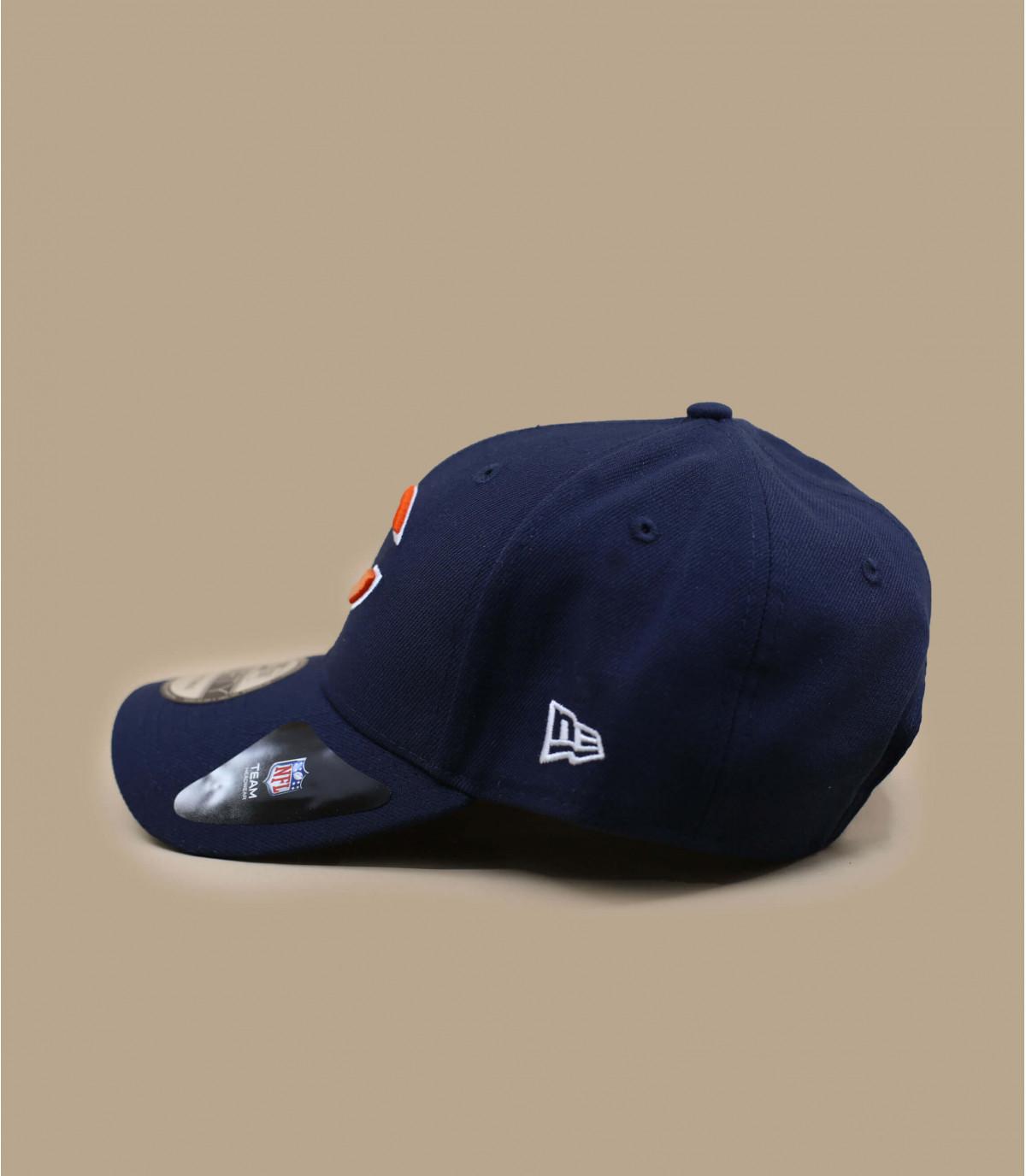 navy-blue Bears curve cap