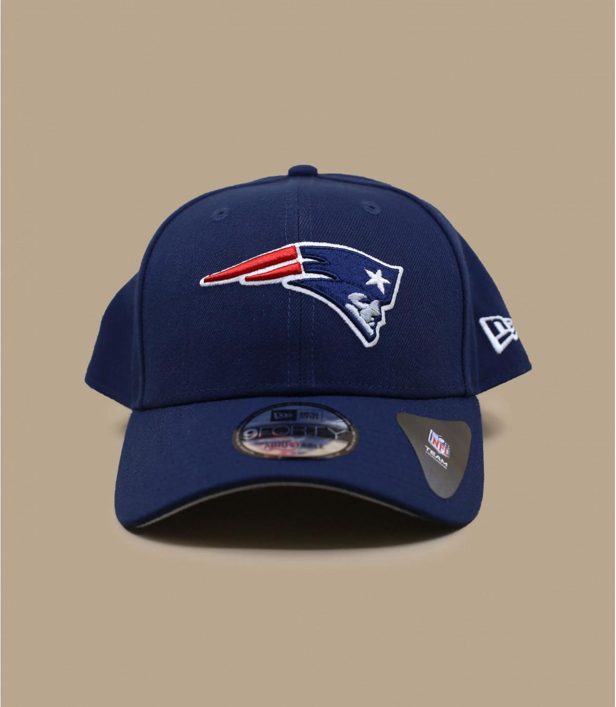Patriots curve cap