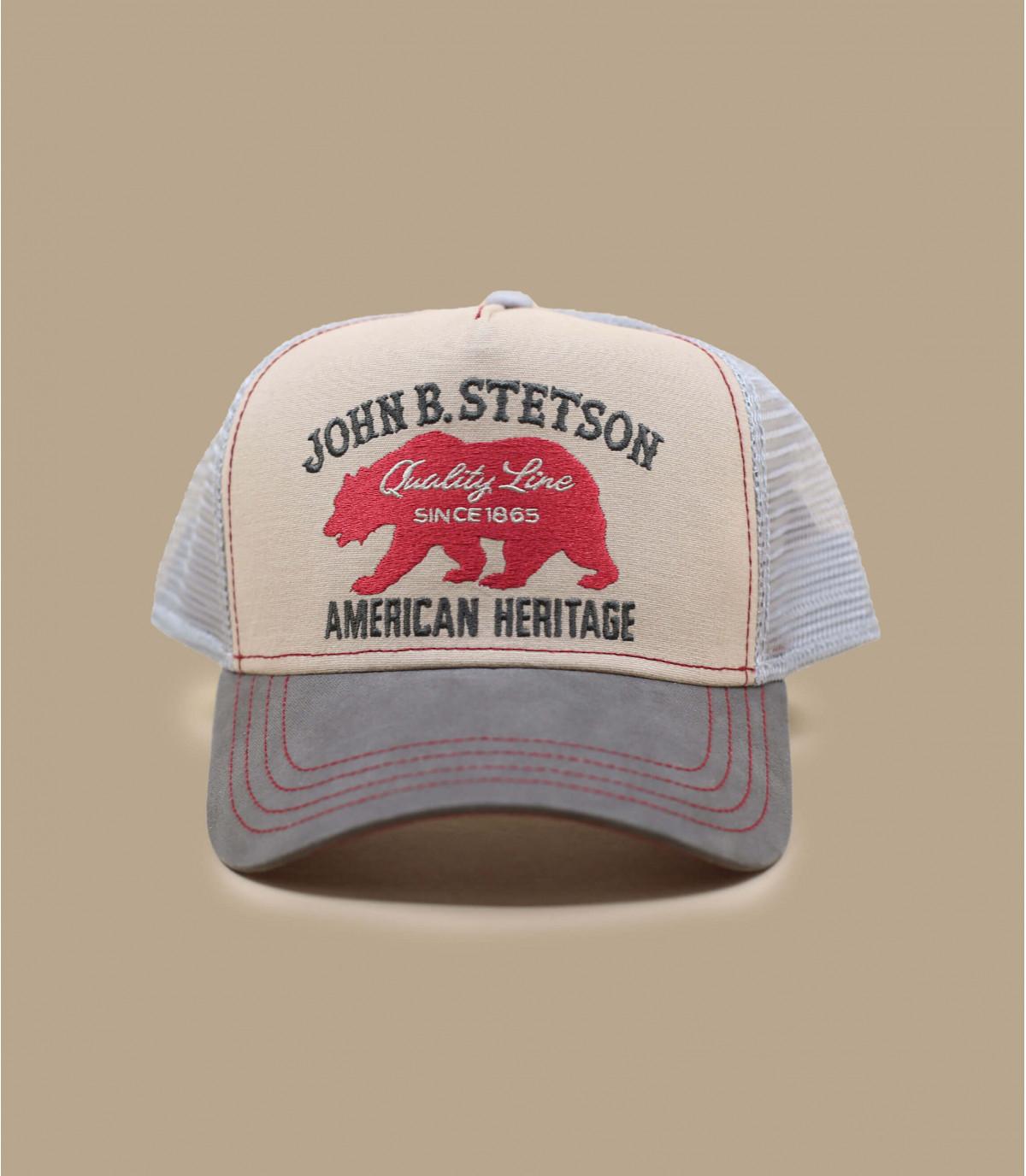 Stetson bear trucker