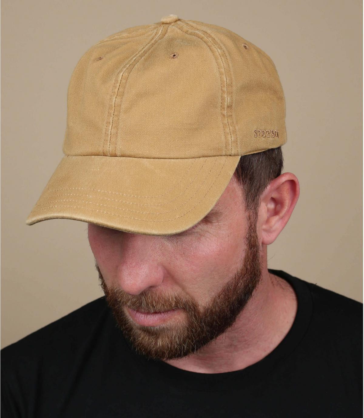 Trucker cap beige Stetson