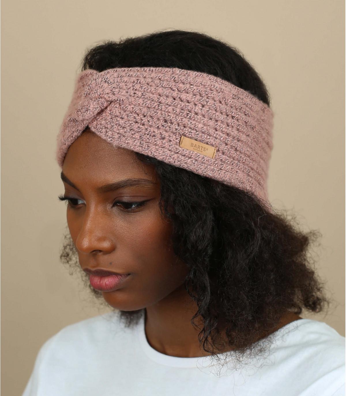 pink headband Barts