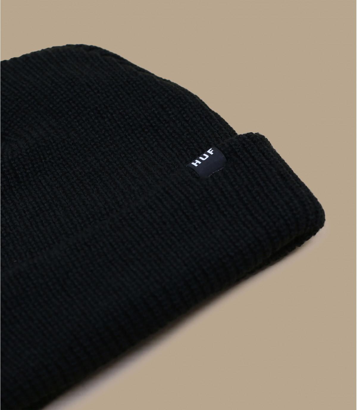 Black men beanie - Usual beanie black by Huf. Headict fec82700b08
