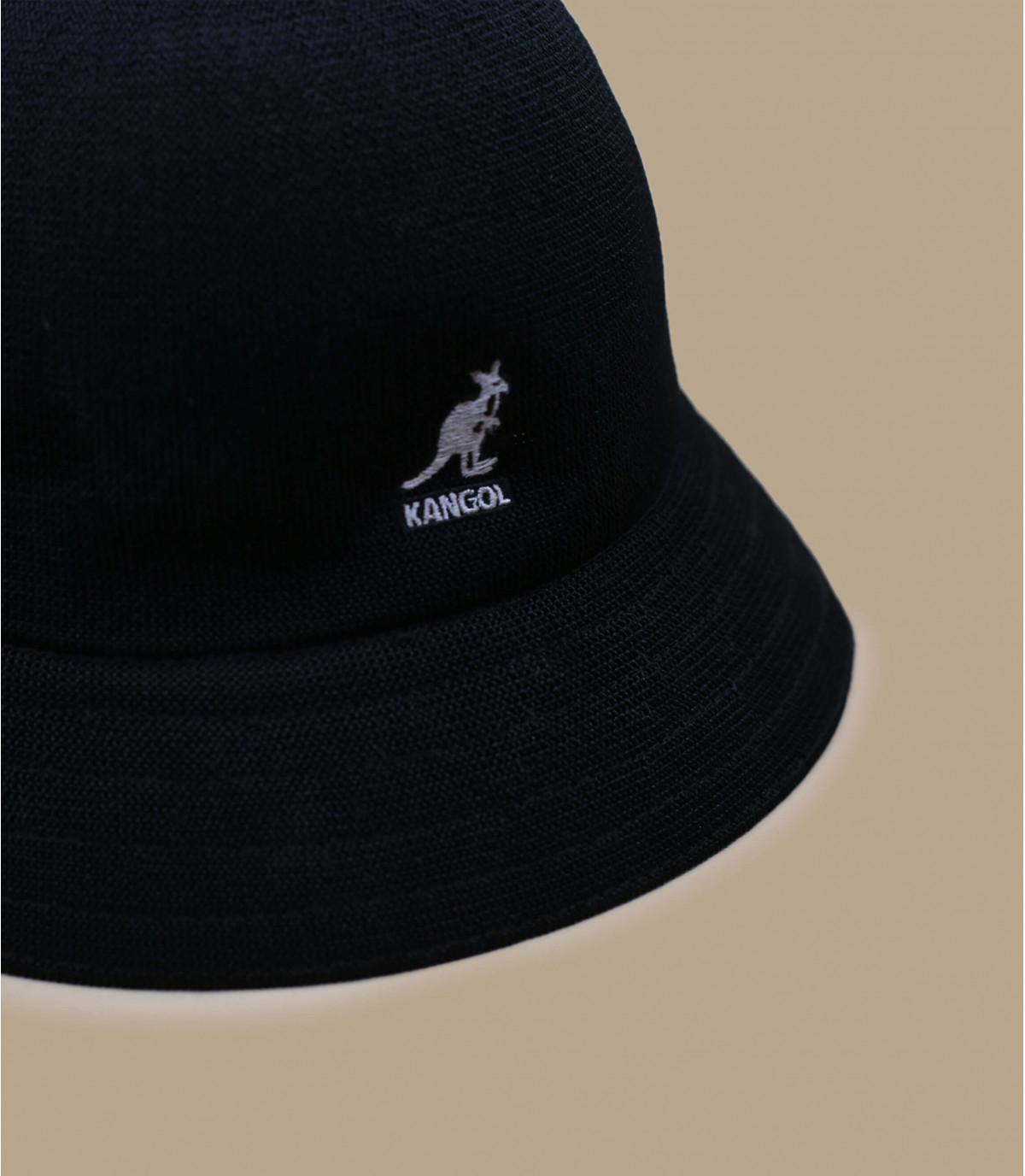 Kangol black Tropic bucket - Tropic casual black by Kangol. 9083ea88576