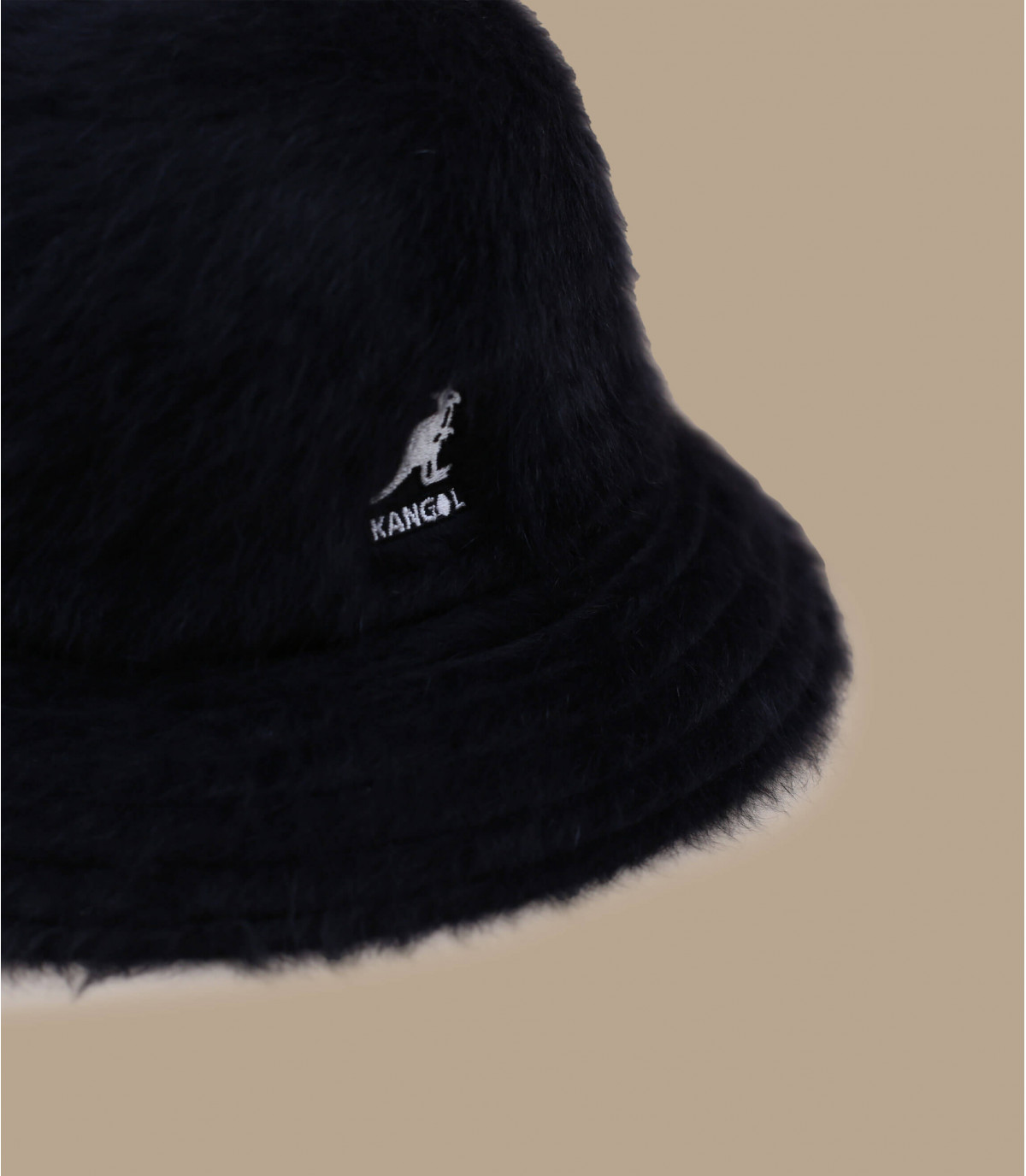 Kangol black bucket - Furgora casual black by Kangol. 6b9016ab6446