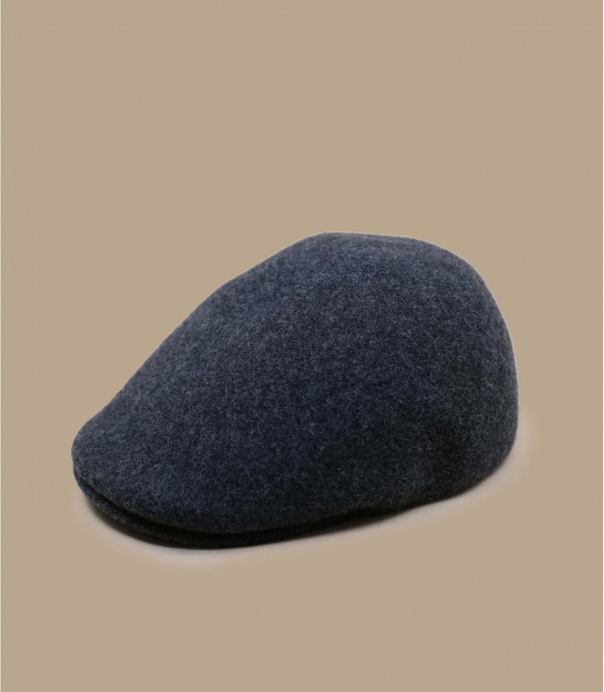 grey wool beret Kangol