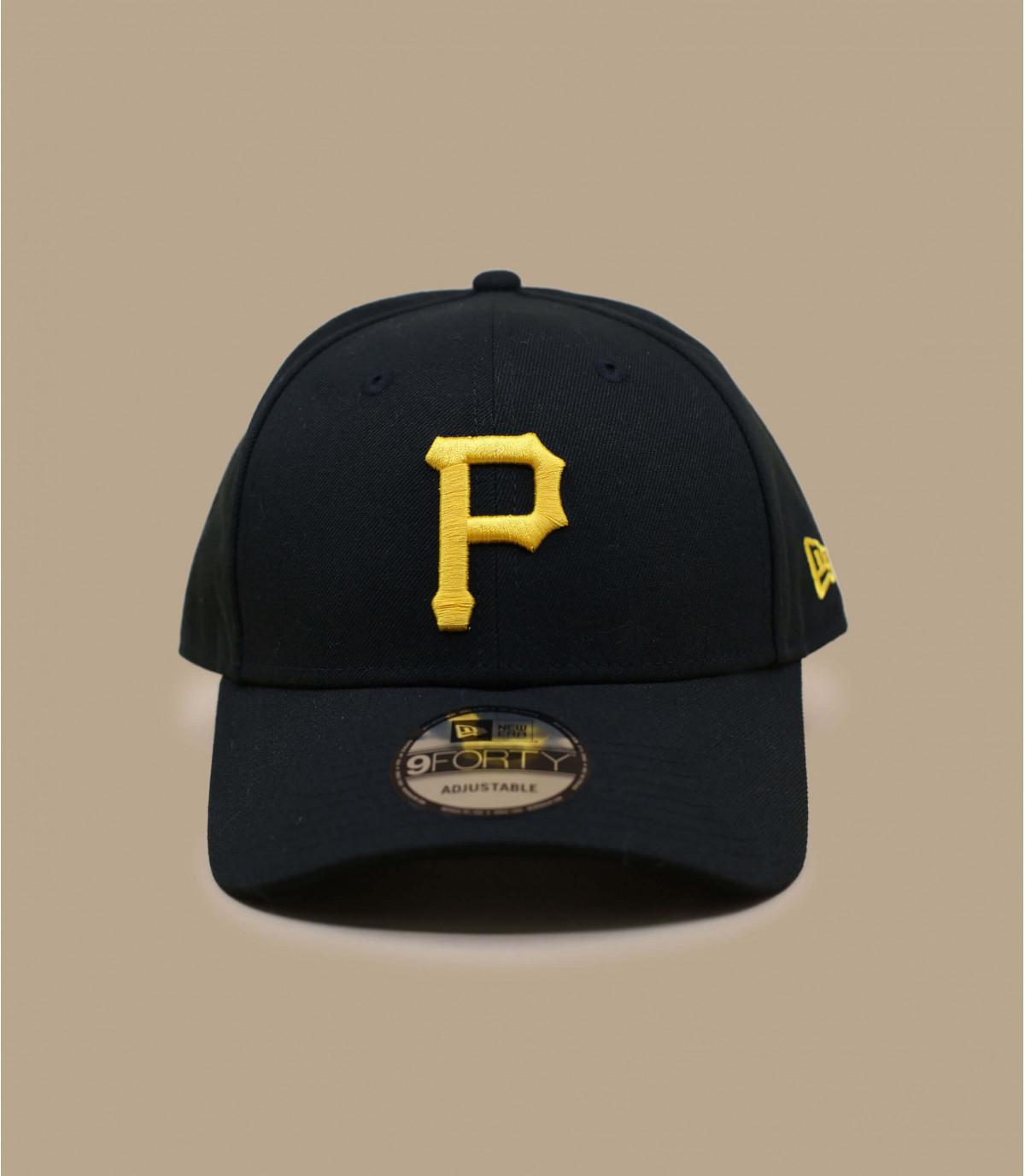 P curve cap New Era. Détails Cap Pittsburgh Pirates The League Team - image  5  Détails Cap Pittsburgh Pirates The League Team - image ... 8092d5ca9